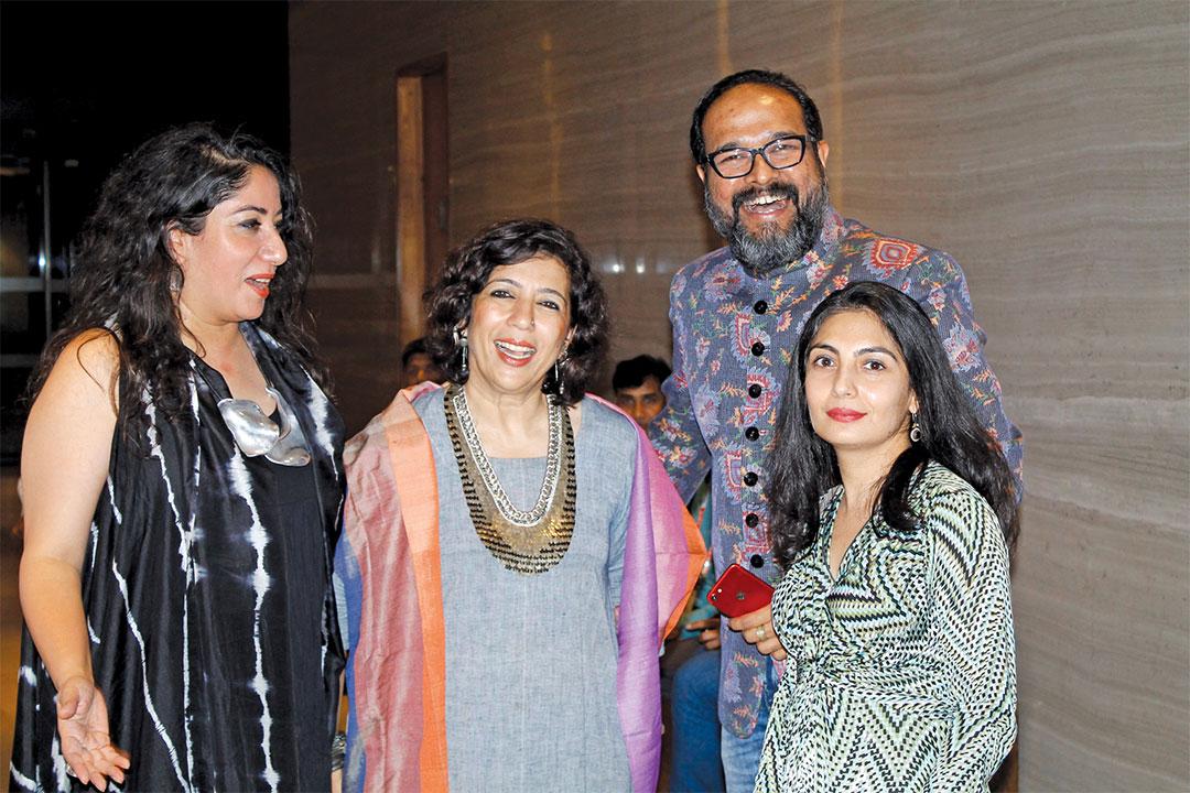 Having-a-fun-time---Ar-Swanzal-Kak-Kapoor---Gurgaon,-Ar-Sonal-Sancheti---Mumbai-and-Ar-Babu-Cherian---Kerala---at-WADe-Asia